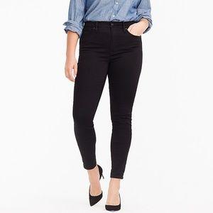 J. Crew Black Toothpick Ankle Jeans Size 32